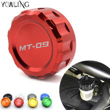 Customized Motorcycle Cylinder Reservoir Cover Brake Fluid Reservoir Cap Cover For yamaha MT09 tracer FZ09 MT-09 MT 09 FZ-09