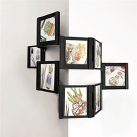 3D DIY Transparent Wall Collage Picture Frame Desktop Photo Frames Set Easily To Assemble And Detachable Collage Photo Frame Set