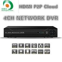 Neueste Full D1 H.264 HDMI Sicherheitssystem CCTV DVR 4ch Kanal Mini DVR für Kamera Freies Verschiffen