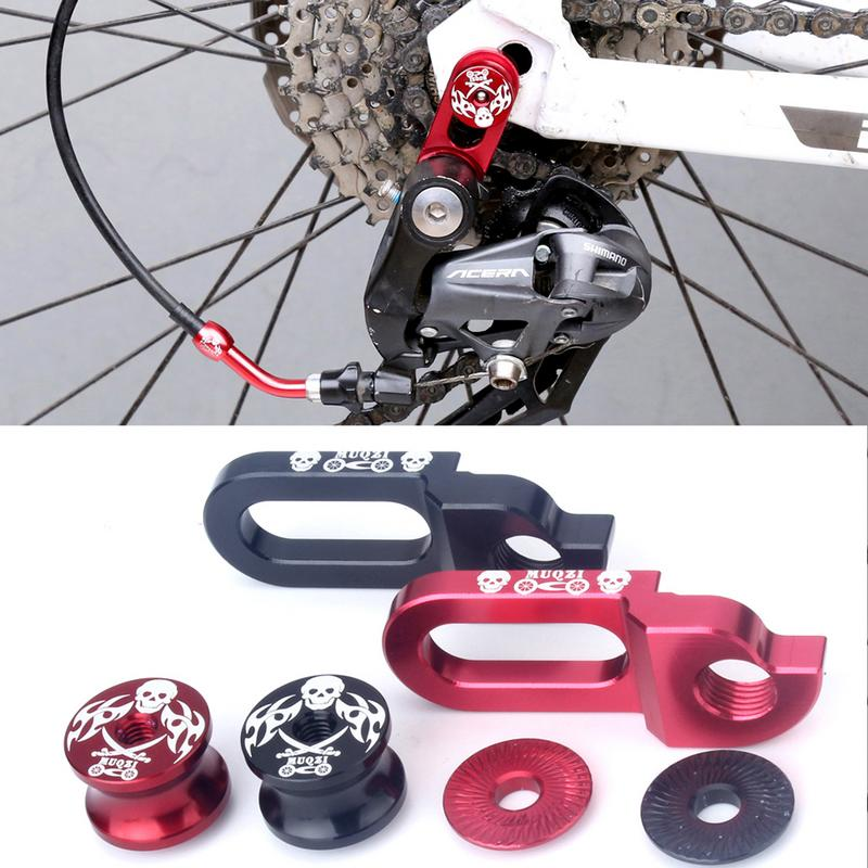 Bicycle Frame Tailhook Bicycle Transmission Rear Tailhook Replacement High Quality Skull Shape Frame Tailhook