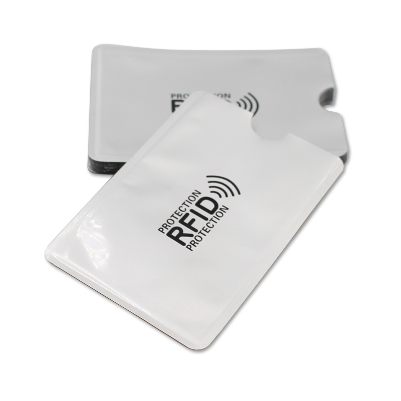 3pcs Thicken Anti Rfid Blocking Reader Lock Bank Card Holder ID Card Case Rfid Protection Metal Credit Card Holder Aluminium