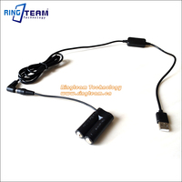USB Drive Power Adapter Cable CA PS800 DR DC10 DC Coupler AA Dummy Battery For Canon