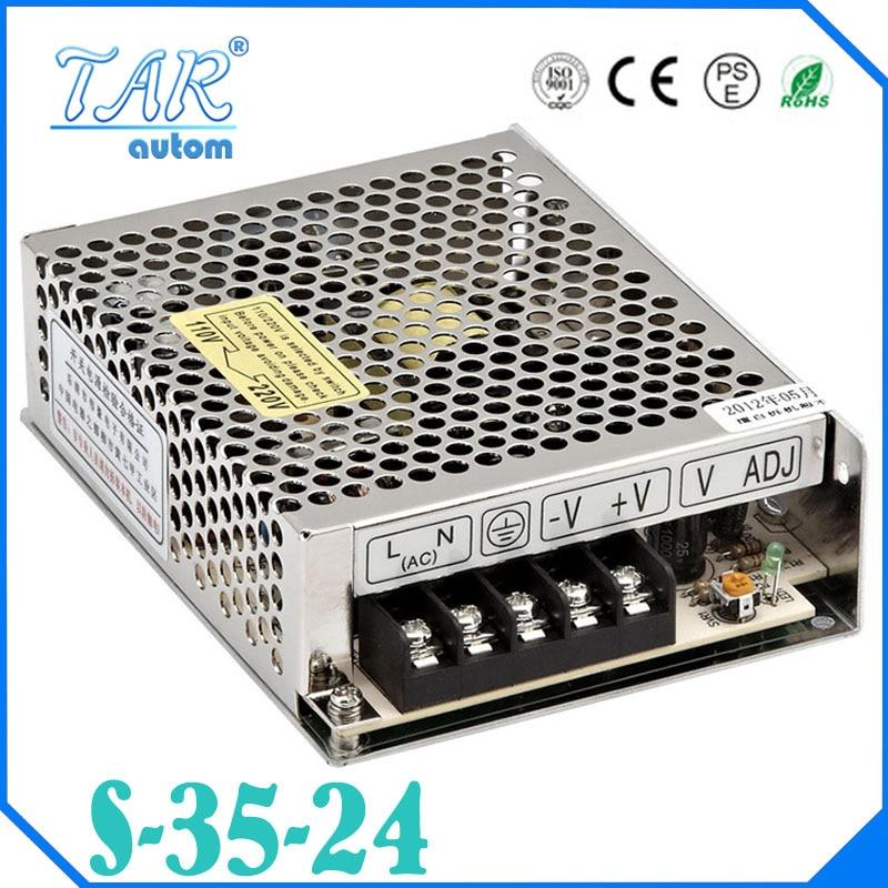 S-35-24 commutateur 24 V transformateur electrique 35 W 24 V 1.5A commutation d'alimentation LED 24