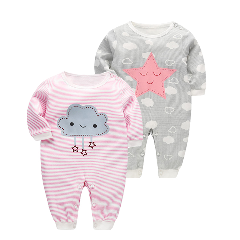 Newborn Baby Girl Clothes Cotton   Rompers   Spring Cute Rabbit Kids Clothes Girls Boys Clothing Jumpsuits Roupas Infant Costume