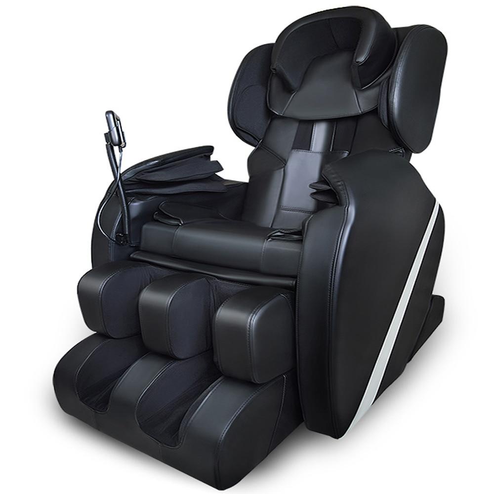 Silla de masaje Shiatsu eléctrica de gravedad cero de cuerpo completo con bolsa de aire caliente estirada reposapiés tejido profundo libre de impuestos