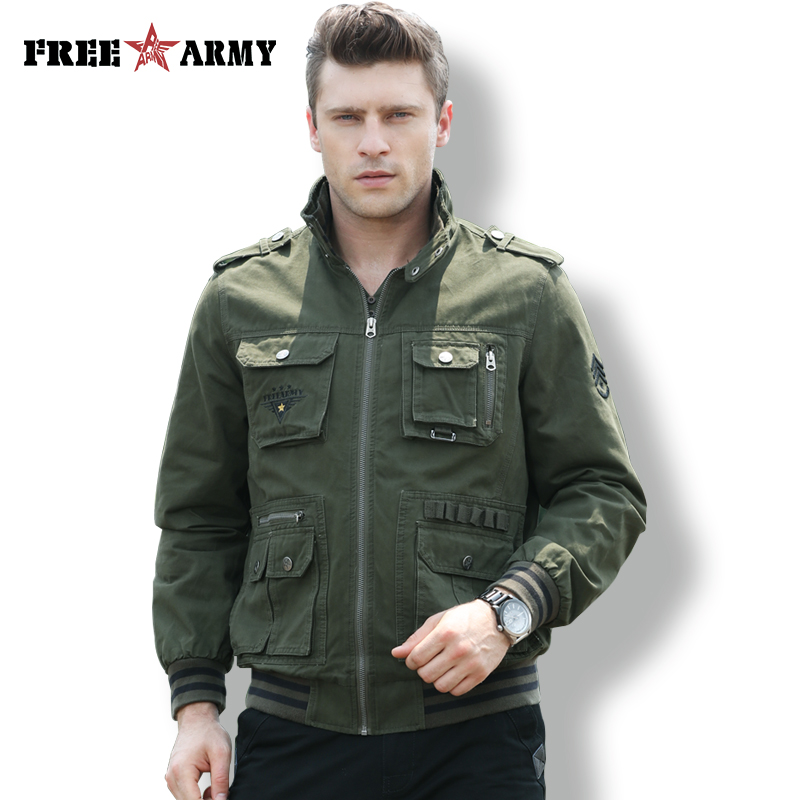 FreeArmy Military Pilot Jackets Men Winter Autumn Bomber Cotton Coat Tactical Jacket Male Casual Air Force Heavy US Army Clothes us army tactical military winter coat men outdoor thermal cotton airborne jacket for sports airsoft hunting shooting edc clothes