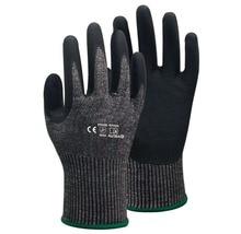 HPPE Nitrile Anti Cut Safety Glove HANVO Resistant Work Gloves