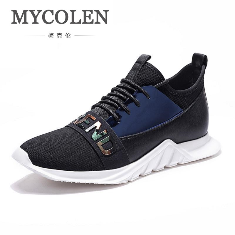 Men's Casual Shoes Shoes Analytical Mycolen Breathable Mesh Shoes Mens Led Casual Shoes Brand Flat Shoes Summer Slip On Soft Comfortable Shoe Calzado-hombre