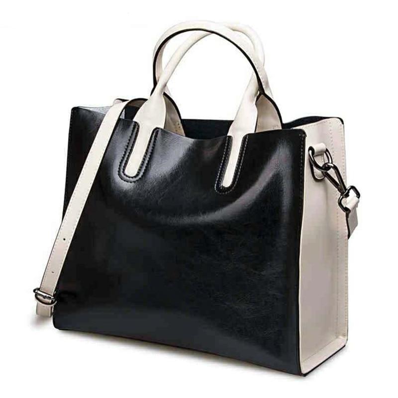 Luksusowe 100% prawdziwej skóry kobiet torebki projektant marki skóry wołowej prawdziwa skóra kobiet torby listonoszki skrzynki Bolsa Feminina w Torby z uchwytem od Bagaże i torby na  Grupa 3