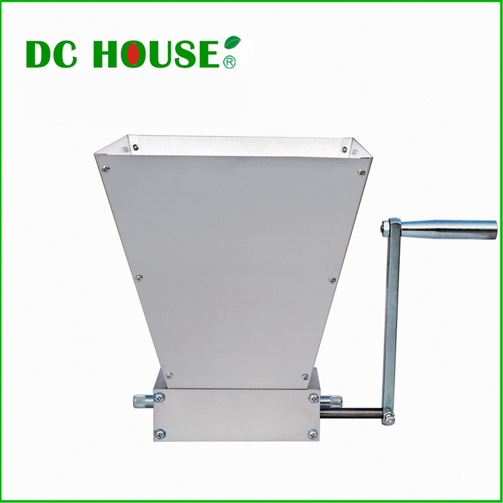 US $87 35 9% OFF|USA EU Stock New Barley Crusher Malt Grain Mill 2 roller  Home Brewing Grain Cereal Crusher-in Mills from Home & Garden on