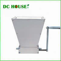 USA EU Stock New Barley Crusher Malt Grain Mill 2 roller Home Brewing Grain Cereal Crusher