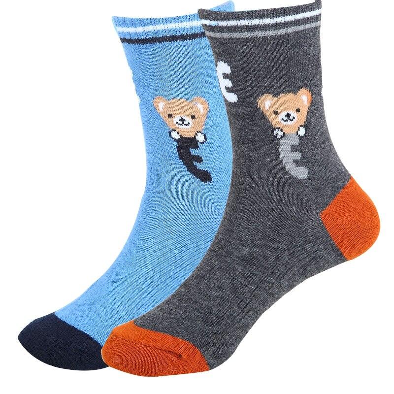 2017 Frühling & Herbst 5 Paare/los Kinder Socken Cartoon Bilder 5 Farben Baumwolle Kinder Jungen Socken 1-12 Jahre Baby Socken