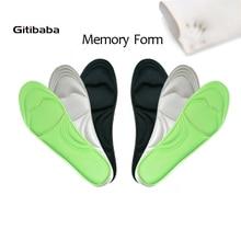 1 Pairs Memory Foam Insole Custom Foot Massage Insoles Plantar Plantillas Para Los Pies Memory Foam Insole Scholls Insoles Women
