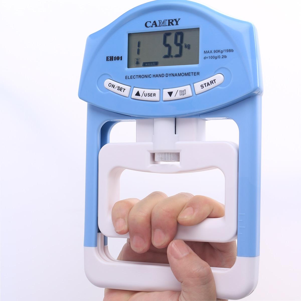 Comptage électronique multi-usage poignée dynamomètre numérique mesure de la Force compteur de Force Portable Fitness et réhabilitation