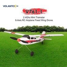 VOLANTEX V761-1 2.4Ghz 3CH Mini Trainstar 6-Axis Remote Control RC Airp