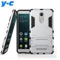 Para xiaomi redmi note 3 pro case tpu + pc con soporte de plástico duro dual armor contraportada para xiaomi redmi note 3 pro prime teléfono
