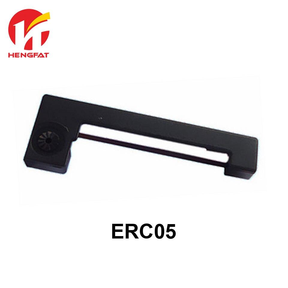 Free Shipping 50pcs/lot New Printer Ribbon for epson erc05 ERC-05 ERC05 ERC 05  erc-05 Black / Purple картридж для принтера epson c13s015384 fabric ribbon