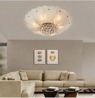 Modern Corridor Ceiling Lamp Aisle Veranda Lighting Down Crystal Surface Mounted LED Ceiling Lights For Living Room Bedroom
