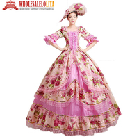 18th Century Dress Belle Prom Gown Marie Antoinette Gowns Event Dress Holiday Dress