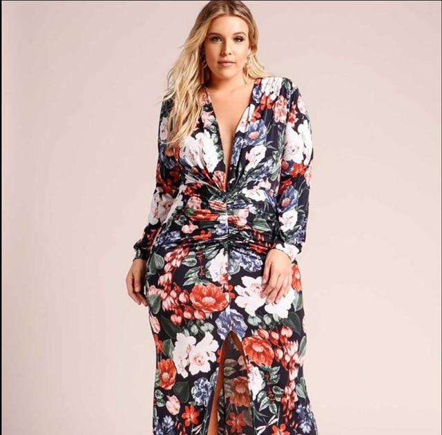 Aliexpress Buy L 4xl Plus Size Women Bohemia New Style Dress