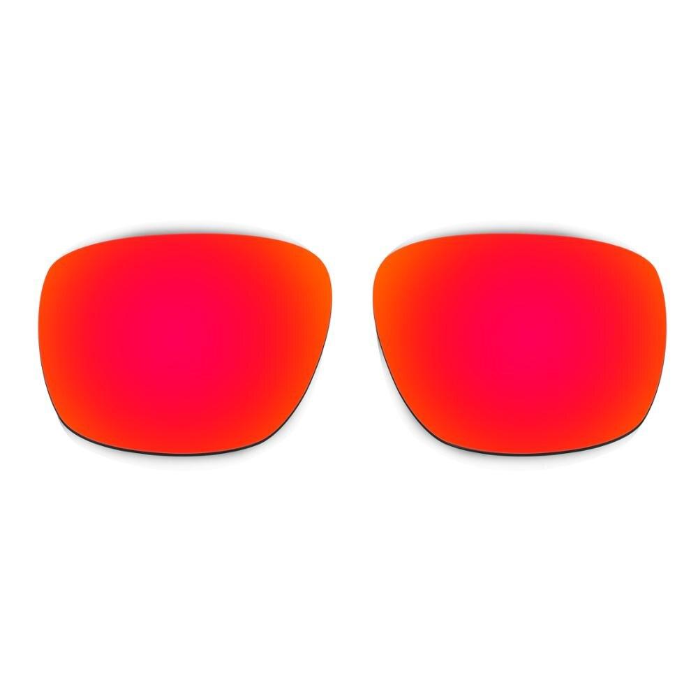 70e2d100c75 HKUCO For Sliver Sunglasses Polarized Replacement Lenses Red Black 2 ...