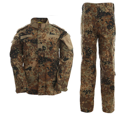 Outdoor German flecktarn camo army military uniform camouflage suit paintball airsoft clothing combat pants tactical Shirt
