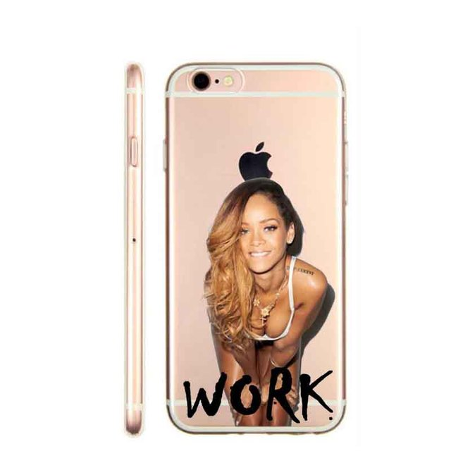 Rihanna Drake Work Beyonce Flawless Swag Hard plastic Case Cover for iPhone 4 4S 5C SE 5 5S 6 6S 6Plus 7 7Plus cases