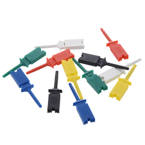 Image 2 - 10 stks/set Test Haak SMD IC 6 Kleuren Clip Grabbers Test Probe
