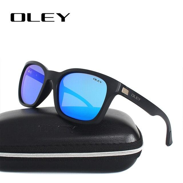 0080d7b2a94f7e OLEY Retro polarized sunglasses men womens brand designer Sun Glasses for man  gafas lunette de soleil