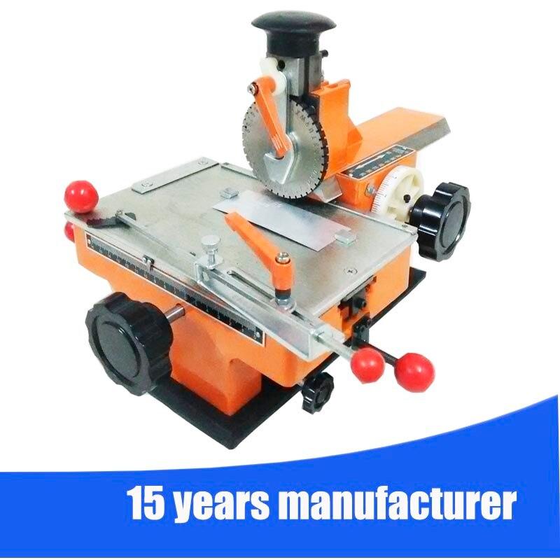 Mini Maual Cheap Marking Machine Metal Plate Engraving Machine Marking Machine For Metal Nameplate