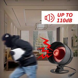 Image 5 - Система сигнализации Fuers, сирена, динамик, громкий звук, домашняя сигнализация, беспроводной детектор, система безопасности для дома, гаража