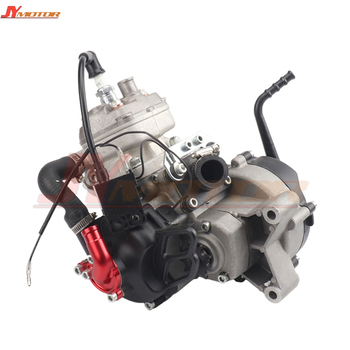 Motor refrigerado por agua de 2 tiempos 47CC 49CC para 05 50 JR SX 50 SX PRO superior Mini ATV suciedad Pit Cruz bicicleta