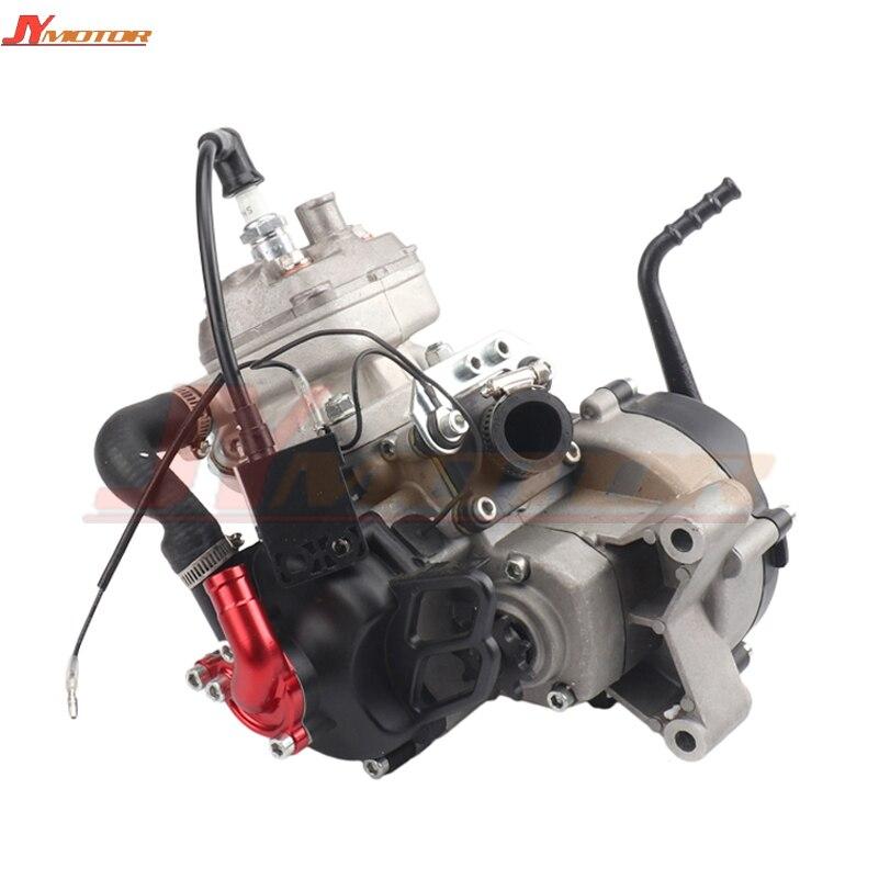 Refroidi à l'eau moteur 2 course 47CC 49CC pour 05 50 JR SX 50 SX PRO PRINCIPAL Mini ATV Dirt Pit moto Cross