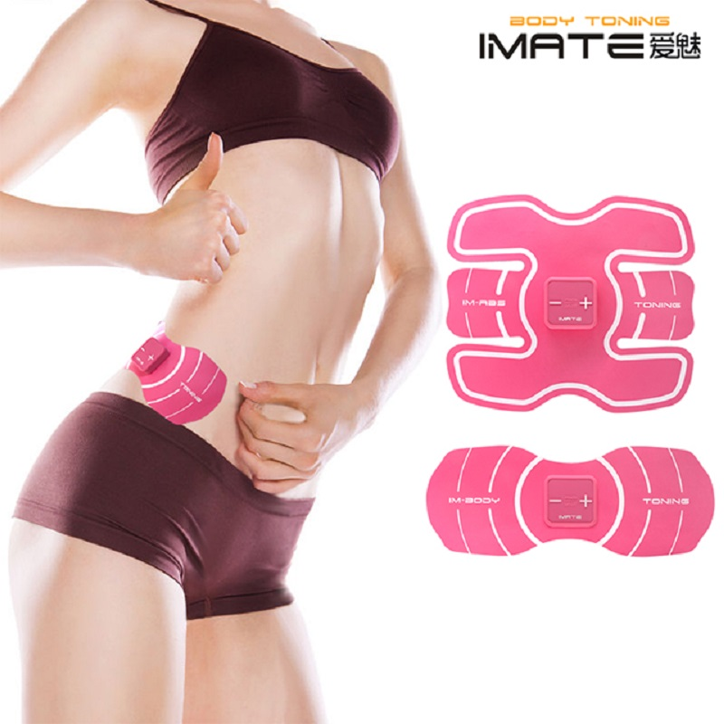 New Upgrade Lady  EMS Abdominal Exerciser Device Hous Abdominal Muscles Intensive Training Electric Weight Loss Slimming Massage upgrade smart shaping muscle device abs slimming patch exerciser fit ems abdominal muscles intensive training slimming massager