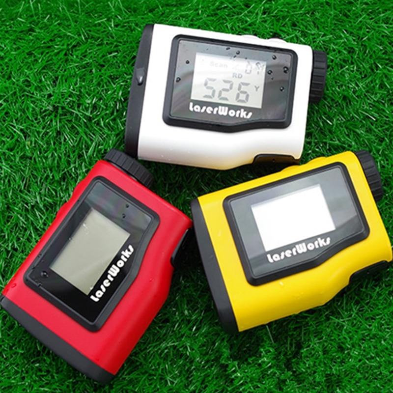 Telémetro de golf 600m pantalla LCD portátil de alcance telescopio - Instrumentos de medición - foto 4