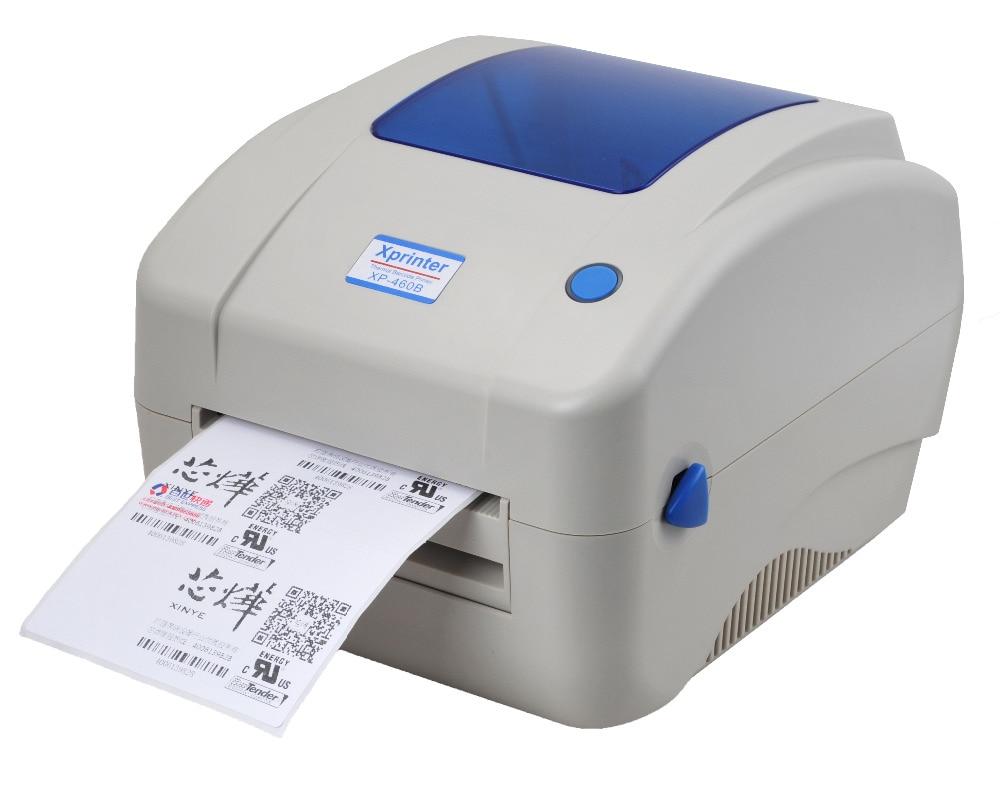 GZL4002 Thermal label printer Shipping address printer E-waybill printer for Express logistics supermarke Free Barcode Software цена и фото