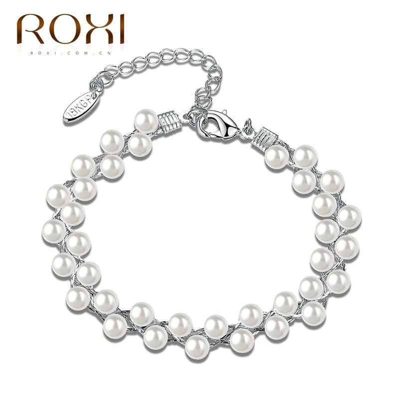 ROXI Bracelet Trendy Link Chain Color Simple Design