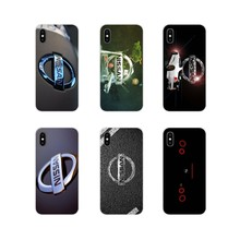 For Huawei P Smart Mate Honor 7A 7C 8C 8X 9 P10 P20 Lite Pro Plus Accessories Phone Cases Covers Nissan Logo Car(China)