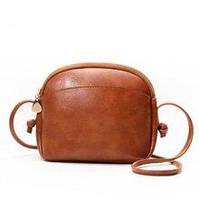 Simple PU Soft Leather Fashion Shell Bag Trend Single Shoulder Messenger Bag Luxury Handbag Designer цены