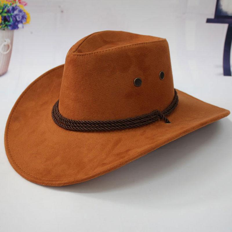 11.11 Topi Topi Koboi untuk Wanita dengan Bidang Sombreros Mujer - Aksesori pakaian - Foto 4