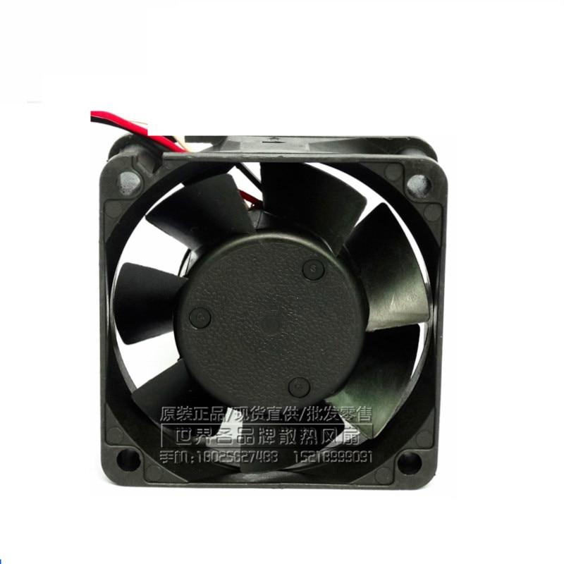 NMB original inverter cooling fan 2410ML-05W-B59 24V instrumentation axial fan 60*60*25mm