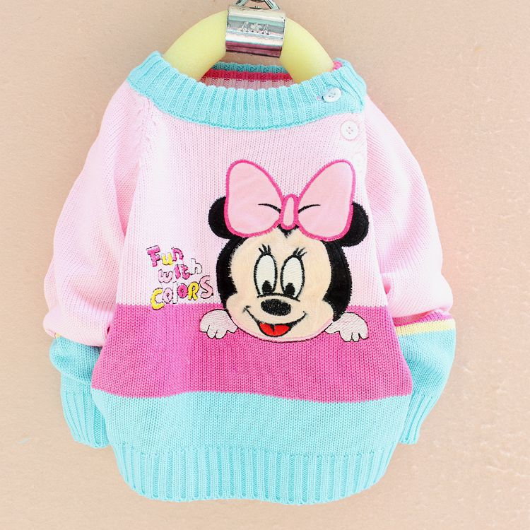 a6fc2df0c17 baby clothing knitted sweaters round neck pullovers hot new kids cartoon  baby for girl boy sweater-in Sweaters from Mother & Kids
