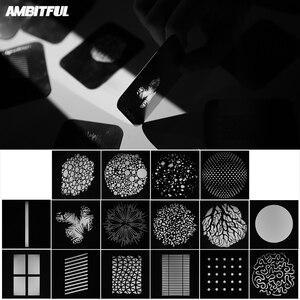 Image 4 - Ambitful AL 16 Focalize Conische Snoot Optische Condensor Art Speciale Effecten Vormige Beam Light Cilinder Met Vorm En Kleur Gel