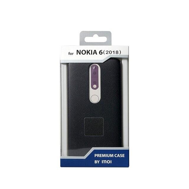 Чехол-накладка Inoi Premium case для Nokia 6.1 2018, PU