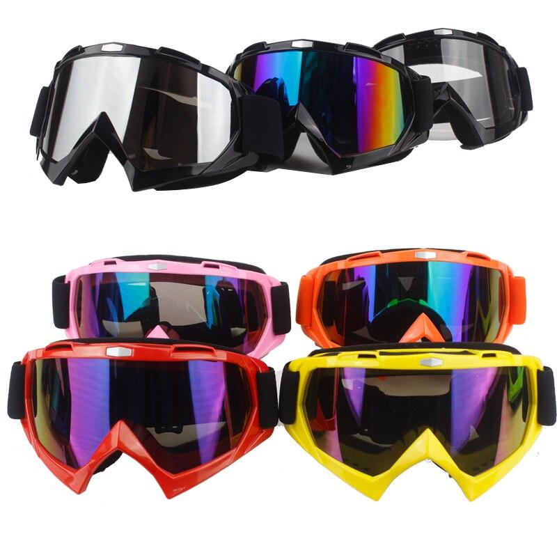 Más caliente moto cross casco gafas moto dirtbike moto rcycle cascos gafas esquí patinaje gafas