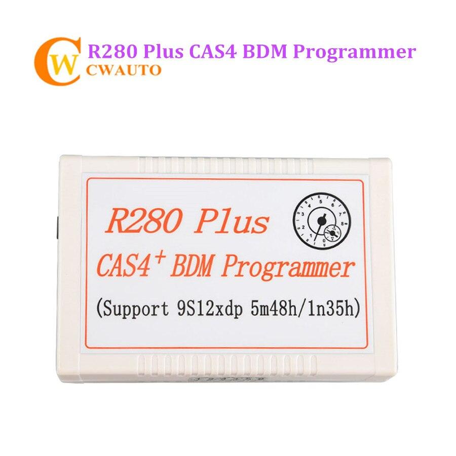New R280 Plus CAS4 BDM Programmer Support MC9S12XEP100 Chip Microcontroller Dedicated Programmer