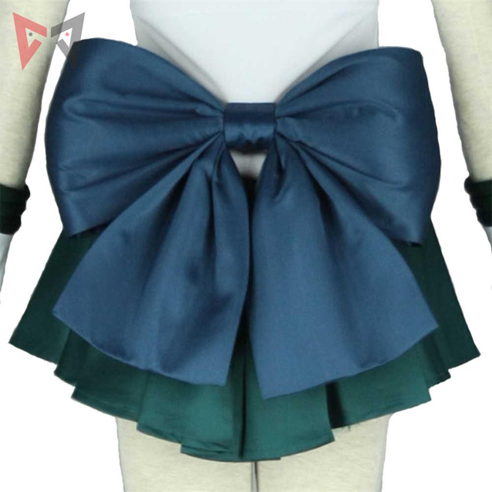 Anime Sailor Moon Sailor Neptune คอสเพลย์เครื่องแต่งกายที่กำหนดเอง Michiru Kaioh ชุดสำหรับเด็กผู้ใหญ่ฮาโลวีนชุด