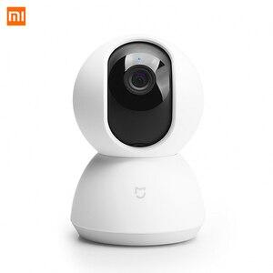 Image 1 - Xiaomi Mijia CCTV Smart IP 360 caméra 1080P WiFi panoramique Vision nocturne 360 vue détection de mouvement Xioami Kit sécurité CN Vistion