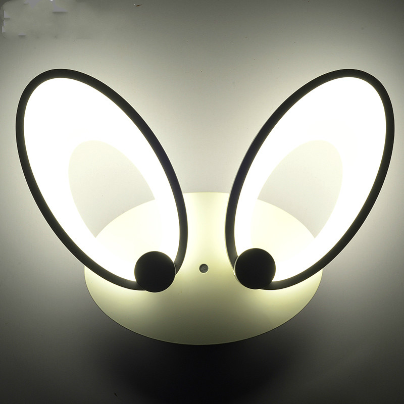 Modern brief led bedside wall lamp lamps personalityModern brief led bedside wall lamp lamps personality