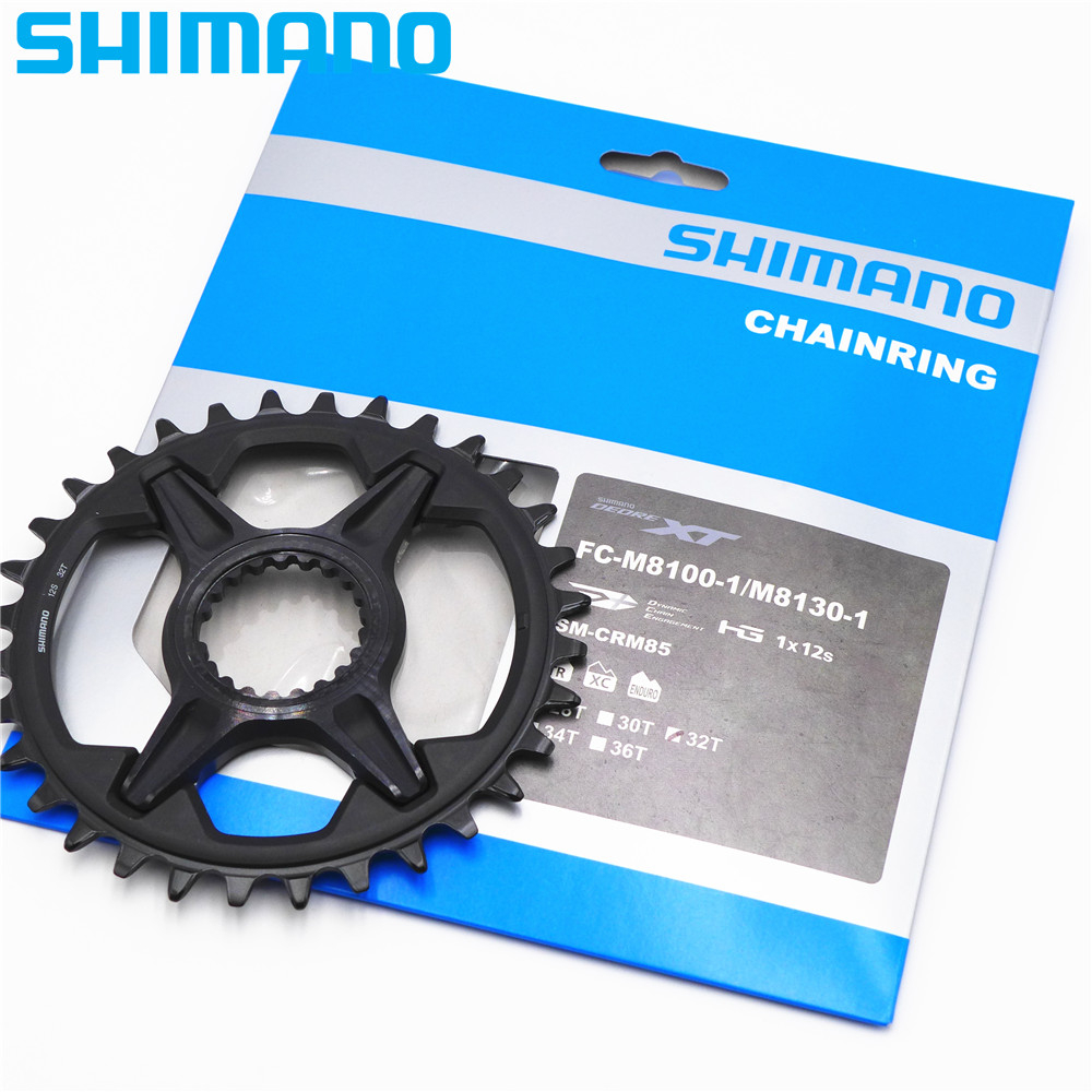 SHIMANO XT M8100 SM CRM85 12 Speed Single Gear Chainring For FC M8100 1 M8130 1